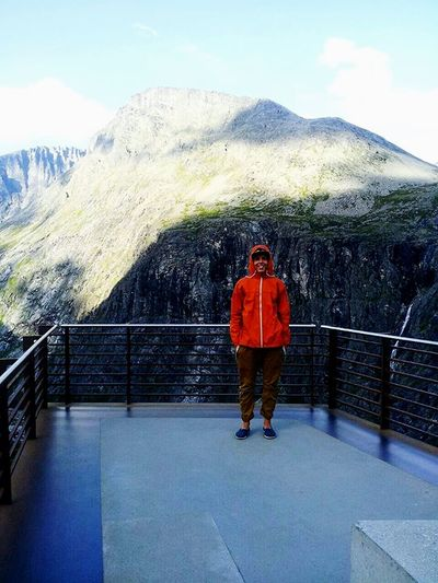 Me :)  Trollstigen Monuments Norway Beutiful  Like Followme Enjoying Life EyeEm Nature Lover The Feeling Of Freedom ???✌️