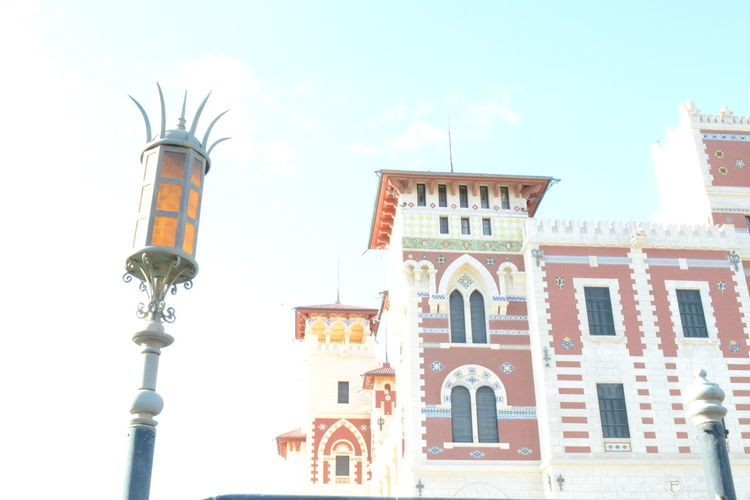 Architecture Building Exterior City Outdoors Sky Day Lights Lighting Palace No Filter Nikkon Egypt Alexandria Photography Photooftheday My Year My View