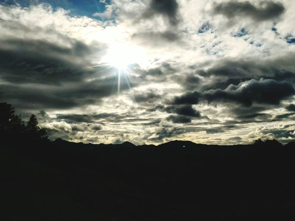 Cloud - Sky Sunbeam Beauty In Nature Landscape Zenphone Photography PhonePhotography