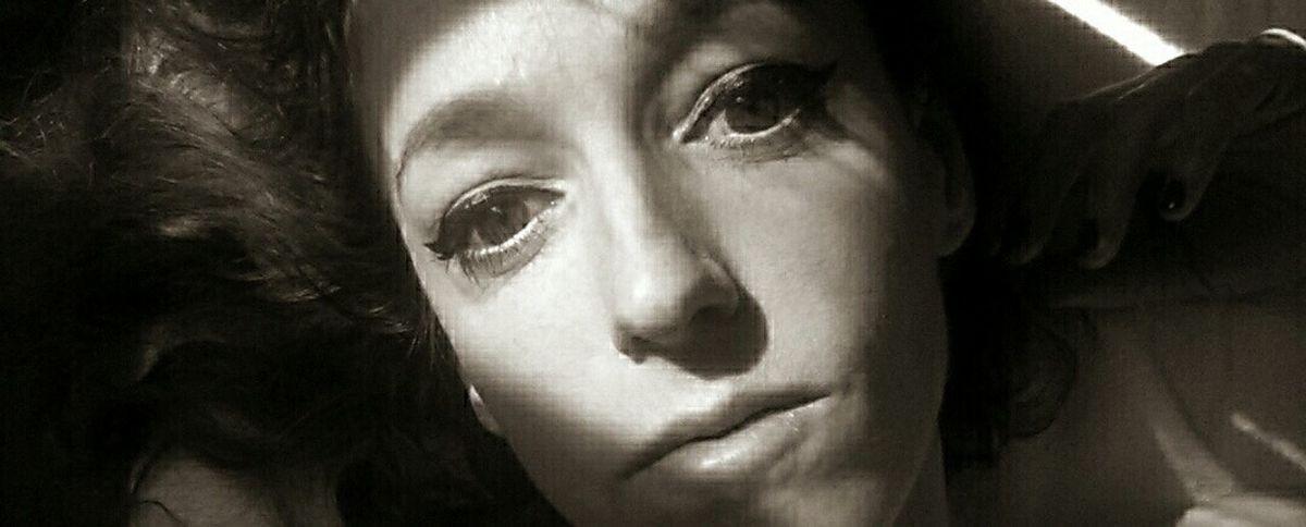 Selfportrait J'aime Bien Me Faire Mon Cinéma Monochrome
