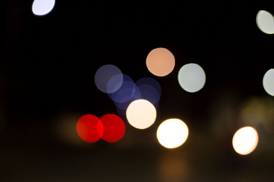 Abstract Background Bokeh Bokeh Circle City Defocused Design Electric Light Electricity  Geometric Shape Glowing Illuminated Lens Flare Light Light - Natural Phenomenon Lighting Equipment Multi Colored Night No People Outdoors Pattern Shape Street Street Light Vehicle Light