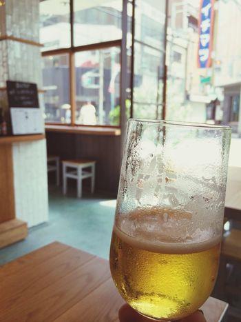 BIOTOPでの素敵な朝♡ Drinking Beer Enjoy Relaxing