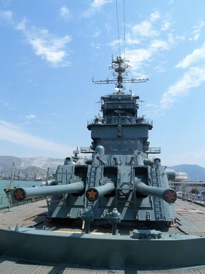Russian Navy Day Fleet Military Museum No People Outdoors Sky Transportation Warship Weapon