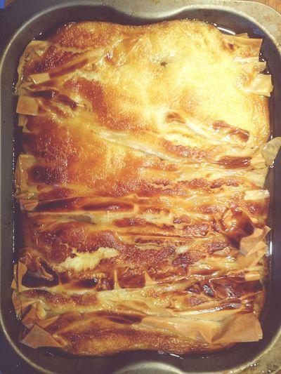 Partsalopita Greek Food