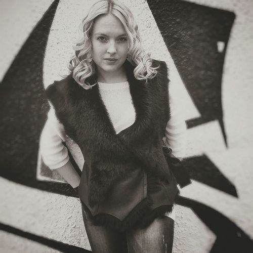 Gilr Russian Girl Blonde Girl Eye4photography  Lonely Me ThatsMe Blackandwhite Black And White Black & White Blackandwhite Photography Photography Ilovephotography Graffiti Graffiti Art