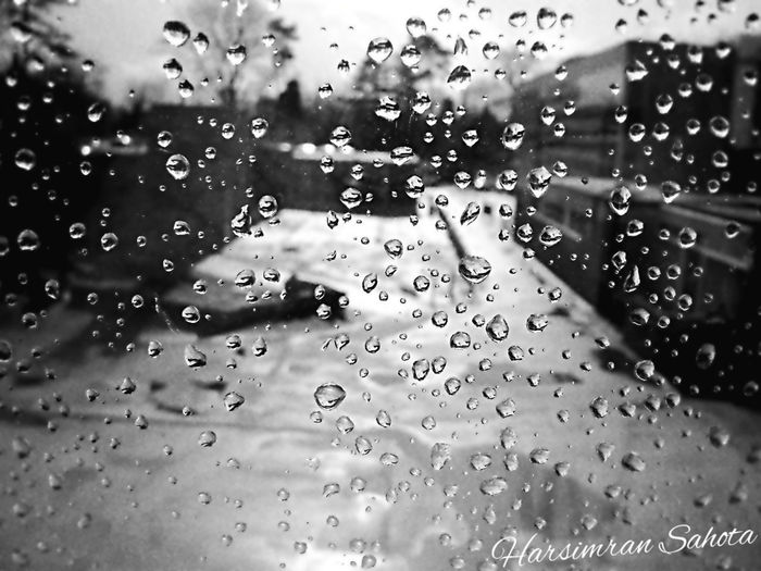 Backgrounds Black & White Close-up Datchet England Indoors  Rainy Days Water