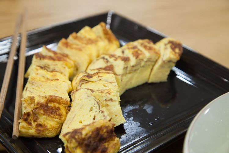 J.light Delicious Korean Food Egg Roll Egg Food And Drink Plate Food Indoors  Freshness No People Close-up Ready-to-eat Healthy Eating