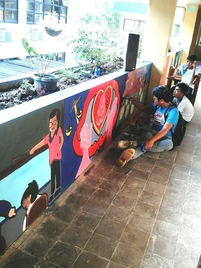 Here Belongs To Me Philippines Muralsart Youth Enjoying Life Art Creative No Vandals Productivestudents First Eyeem Photo