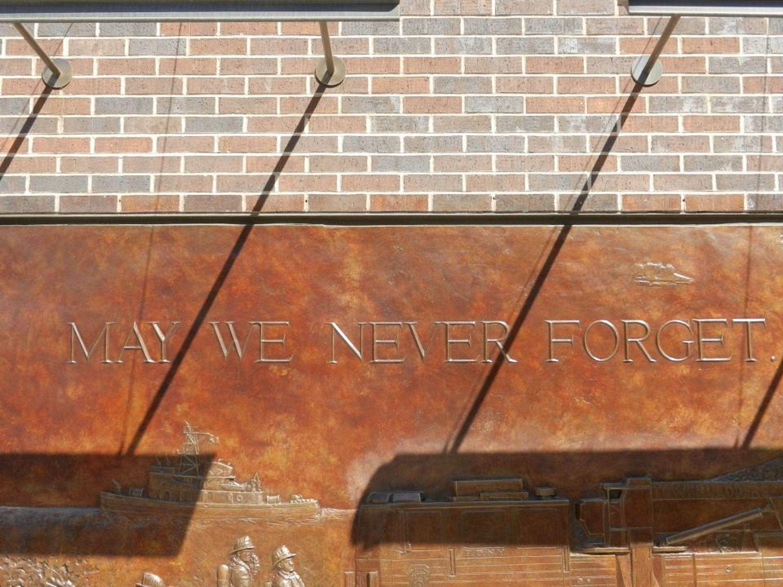 brick wall, brick, text, wall, western script, built structure, architecture, wall - building feature, communication, no people, capital letter, day, outdoors, building exterior, glass - material, sign, information, old, metal, message