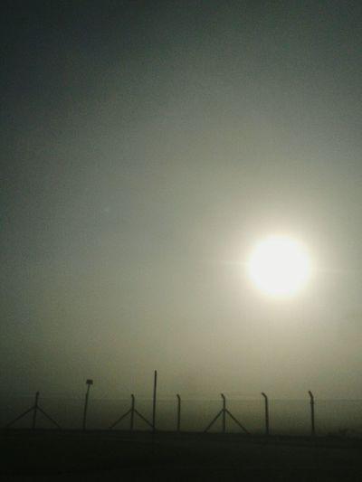 Sunrise God Morning Mist Cold