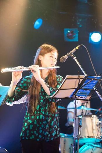 Live Music Live Music Musical Instrument Flute Playing Music Playing Flute Performance Stage - Performance Space JustMe Portrait Music Is My Life Japanese