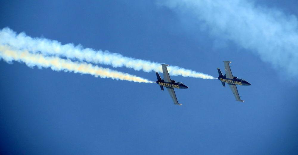 Patrouille Breitling , Planes