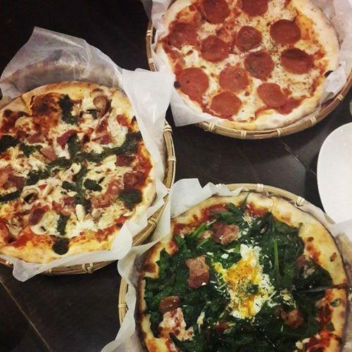 瑪麗珍pizza好好味🍕 還有蘋果酒好好喝 喝了會QOO臉紅紅唷~ Maryjanepizza Pizza 師大 雲錦街 瑪麗珍 瑪麗珍pizza Qoo
