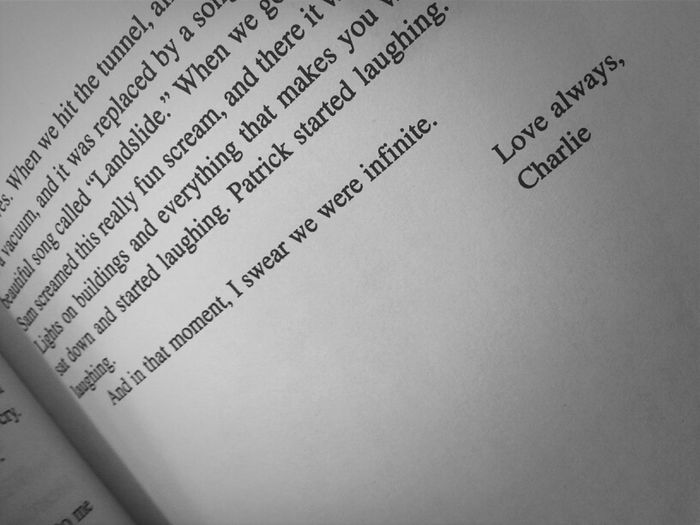 this books is just amazing soo far ♥ . I love this part though (: Happy Love Amazing Quote Book The Perks Of Being A Wallflower