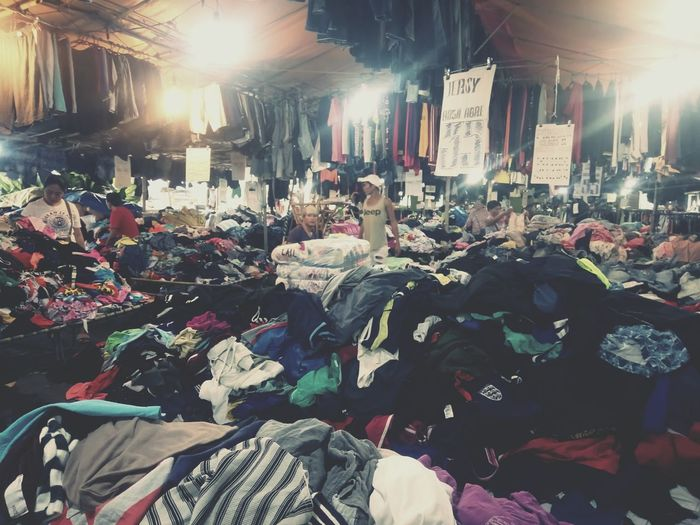 Pile Of Clothes T'nalak Festival T'nalak Festival 2018 ASIA Streetphotography Street Photography Eye4photography  Philippines Asian  Crowd Market Choice Retail  Business Finance And Industry Variation Consumerism Market Stall For Sale Display Stall Retail Display Street Market