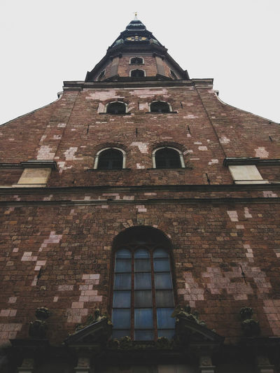 Architecture Building Exterior Window Built Structure History Low Angle View No People Day Façade Travel Destinations Outdoors Clear Sky Sky Prague Cityscape Ancient Architecture Church Entrance