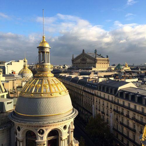 Paris Paris Palais Garnier Boulevard Haussmann Ville Street City Streets  City Toits De Paris Roofs Of Paris Your Ticket To Europe