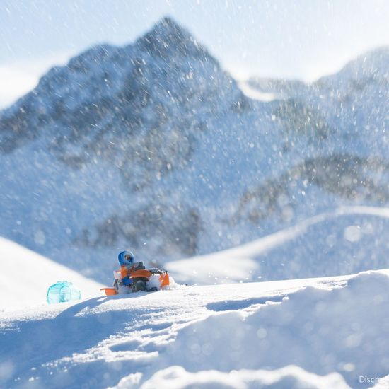 Snow Chasingsnow Snowmobile LEGO Serre Chevalier  Deepfreeze