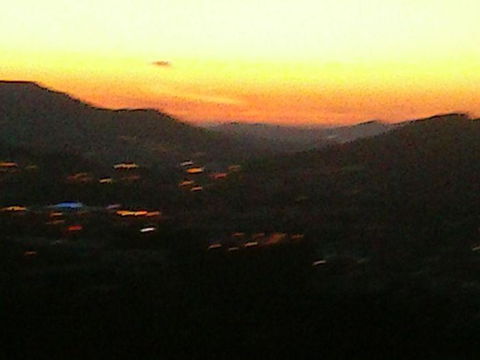 Por do Sol Braga, vista do Monte Picoto Taking Photos Night Lights A Minha Cidade Hello World