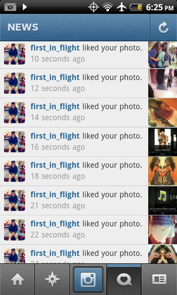 can always count on you to like my pics (: lol
