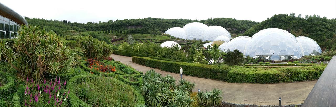 Eden Project Edenproject Biome Biomes Cornwall Tourism Cornwallholiday Cornwall Panorama View