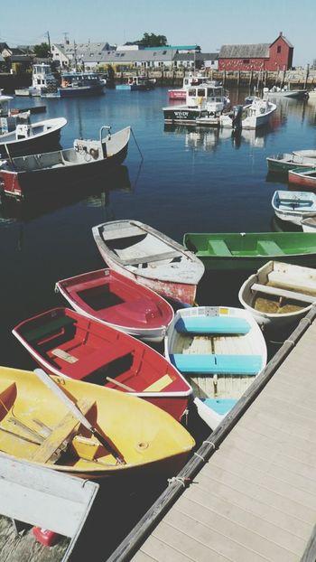 Pastel Power Motif 1 Rockport Harbour Boats EyeEm Best Shots