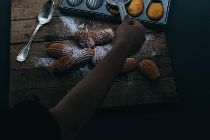 Baking Dessert Porn Foodphotography Foodporn Madeleine Madeleines Processing Sweets