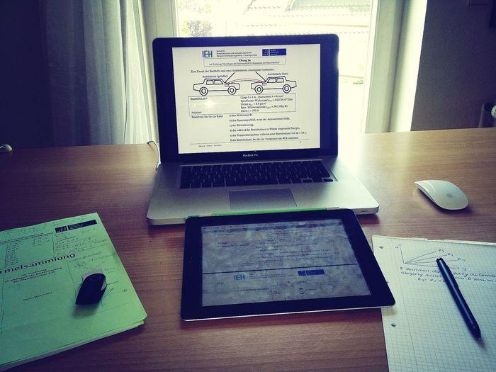 elektrotechnik lernen -.- University Hannover Maschinenbau MacBook