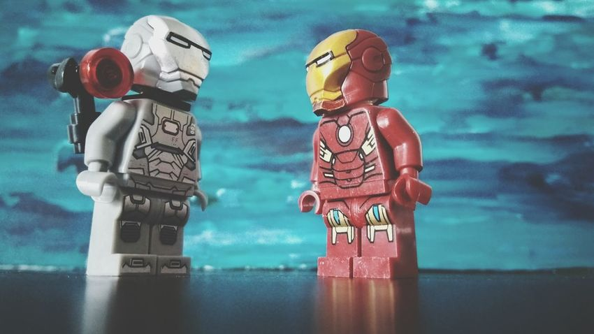 LEGO Full Frame Abstract Photography Studio Shot ironman Artistic Ironman War Machine No People Gray Textured  Leiblingsteil