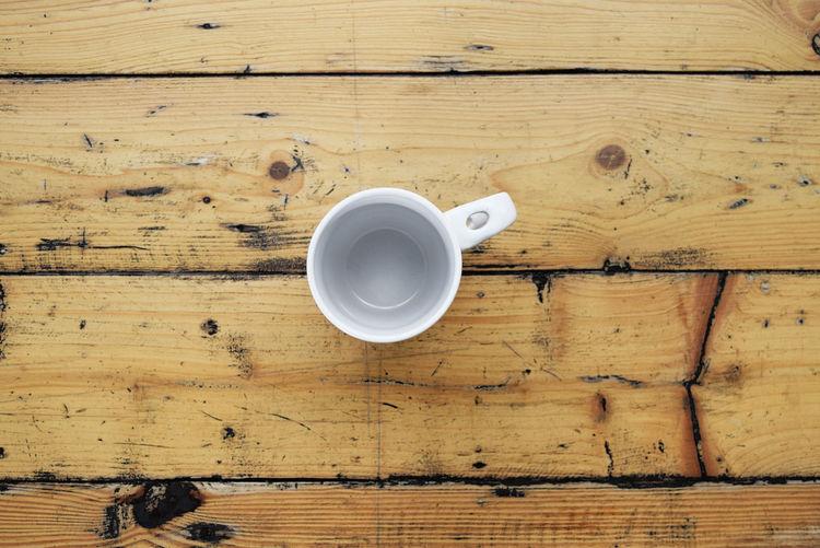 Coffee mug on