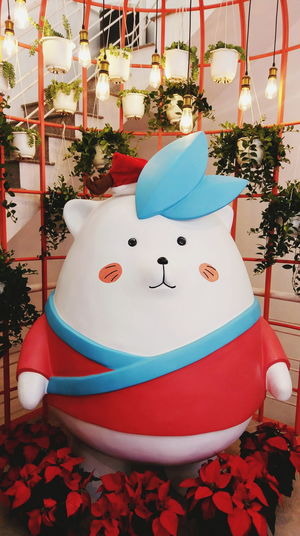 That's cute ❤ Colors Bear Teddy Bear Lovely Cute Love Like Celebration No People Indoors  Day