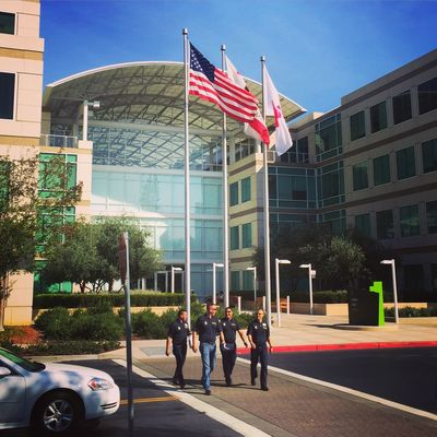 Work in the United States , Cupertino , California