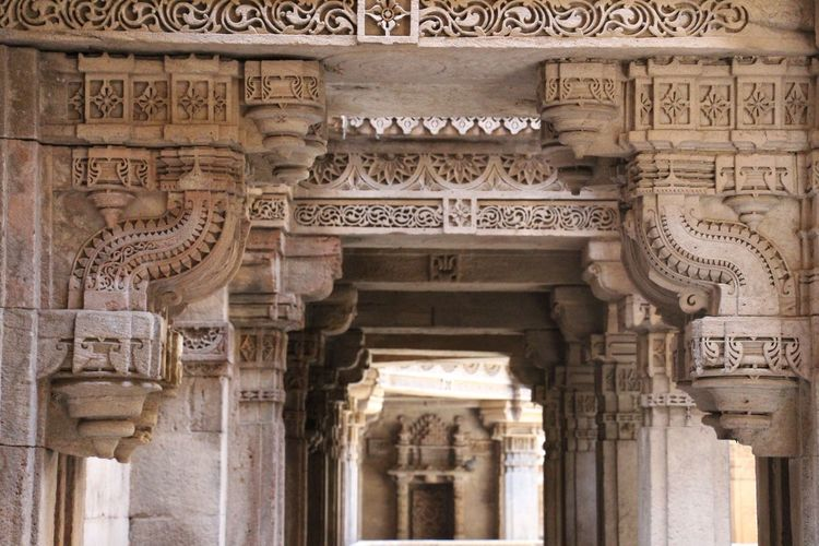Adalajstepwell Ahmedabad India Ancient Architecture ArtWork Creativity Day No People Outdoors Stepwell Travel Destinations EyeEmNewHere The Architect - 2017 EyeEm Awards The Architect