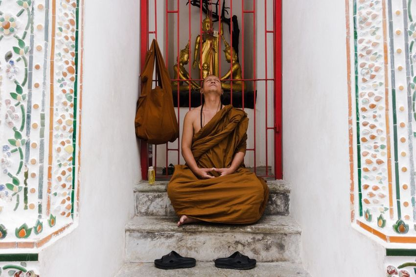 Meditation Monk  Buddhism Everybodystreet Streetstyle Streetphotography The Street Photographer - 2018 EyeEm Awards