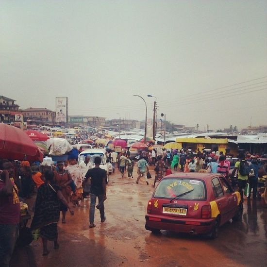 To all ye who are in the Diaspora , I bet I miss this place... Welcome to Kumasi Ghana360 Ghana