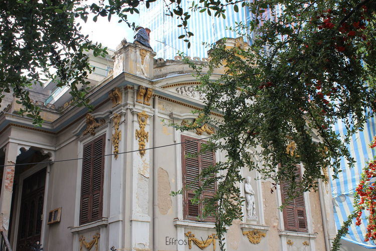 Lost in time. Architecture Baroque Architecture Branch Building City Day Details Low Angle View No People Old Vintage