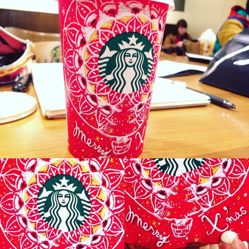 Mandala Starbucks Starbucks Coffee Art ArtWork Mandalas My Drawing