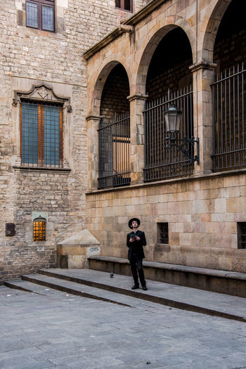 Searching for origins Ancient Barcelona Barcelona, Spain Catalonia Gothic Gothic Architecture Gothic District Jew Jewish Man Plaça Iu Ancient Architecture Gotic Gotico Hebrew Hebrew Letters One Person Portrait Street Photography Streetphotography