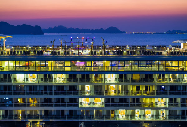 Halong Bay Vietnam Halongbay Architecture Beauty In Nature Building Exterior Built Structure City Cityscape Gold Colored Ha Long Bay Halong Illuminated Mountain Nature Night No People Outdoors Reflection Scenics Sea Sky Sunset Tranquility Water Waterfront