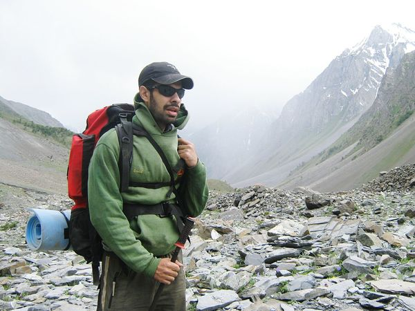 Hiking across the Naltar Pass, Pakistan. Travel Adventure Getting Inspired Hiking Self Portrait Everyday Joy Portrait Starting A Trip