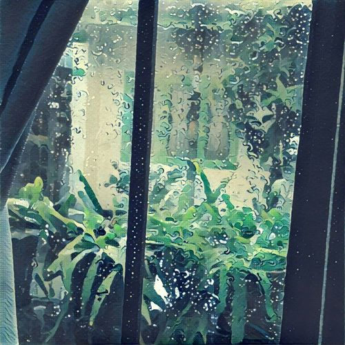 Glass - Material Transparent Window Water Weather Looking Through Window Rain RainDrop No People Raindrops On My Window Raining Outside Rainy Days Rainy Season