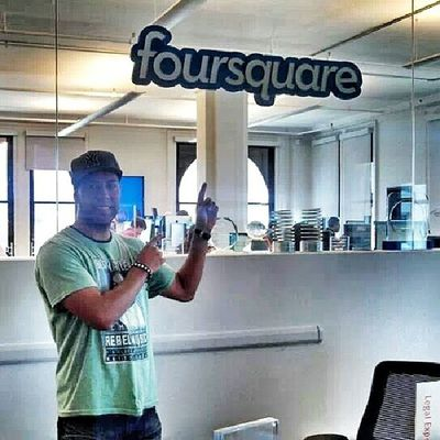 TBT  visiting Foursquare HQ in NYC