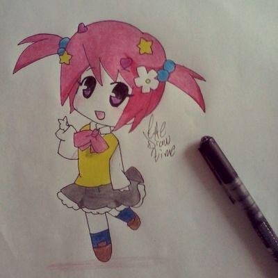 Drawing Animecute Animechibi Animegirl prismacolor manga