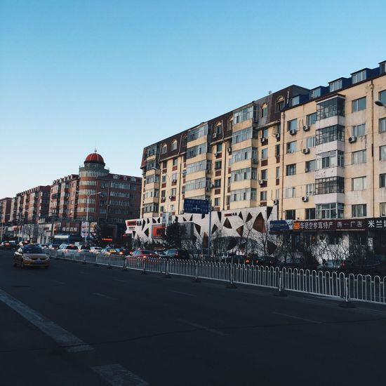 Cityscapes City Street Ontheroad Urban Urbanphotography Urbanexploration VSCO Vscocam Harbin China 哈尔滨 中国 Building