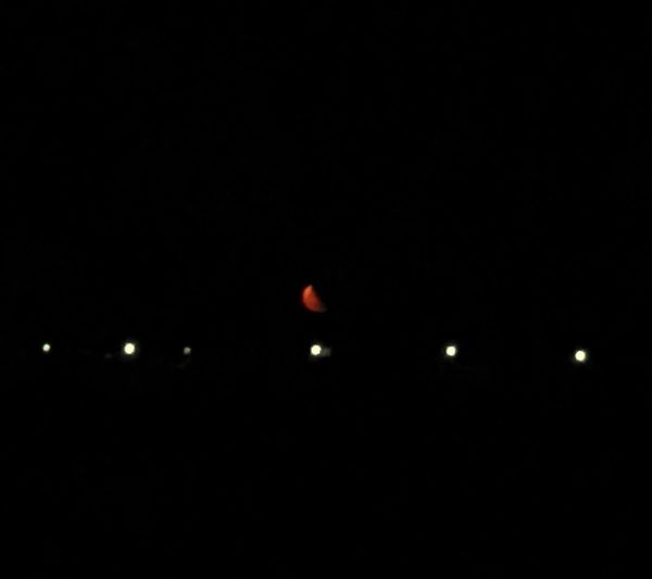 Moon Redmoon Newmoon Streetlights Night