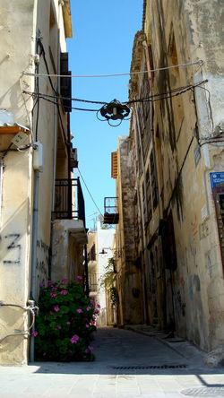 Architecture Building Building Exterior Built Structure Crete Exterior Greece, Crete Old Town