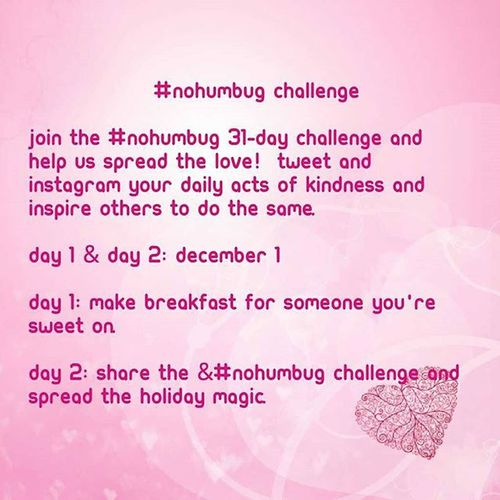 31 Day NoHumbug Challenge Day 1. Countdown Until CHRISTMAS!!!: 24 DAYS 🎆🎅🎄🎁🎉🎊🎈❄⛄