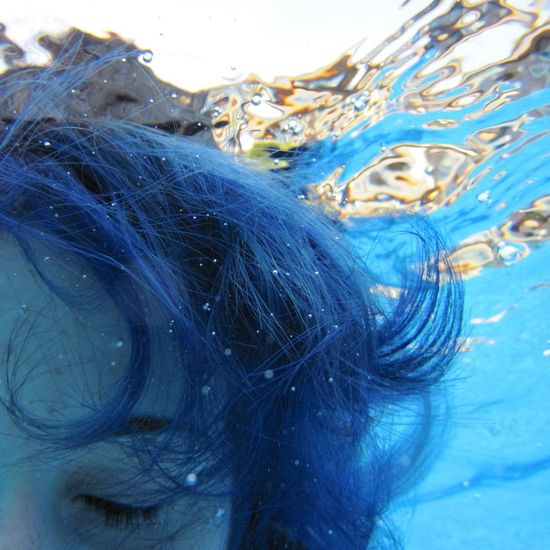 Can't shake this feeling that i have Underwater BlueHair Deep Thoughts Deep Blue