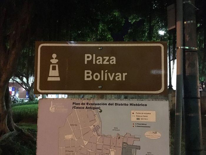 Simón Bolívar Plaza Bolivar Casco Viejo Panama