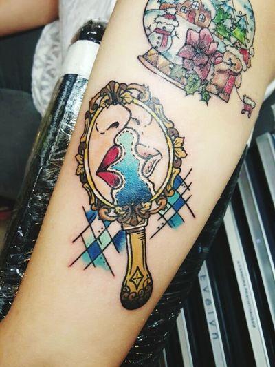 Tattoo That's Me New Tattoo Enjoying Life